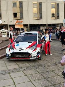 Kokkola 400v juhlarallin voittaja, ylivoimaisesti! Katsuta Takamoto ja Toyota Yaris WRC Gazoo Racing!!💪🏻🚗