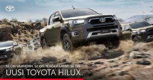 Uusi Hilux uhkuu uutta voimaa ja mukavuutta, ja se on nyt ennakkomyynnissä! Tehokkaamman 2,8 litran moottorin 204 hevosvoimaa, 5...