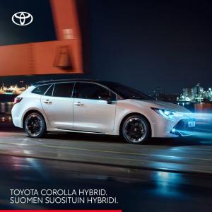 Toyota Corolla Hybrid on Suomen suosituin hybridi – eikä ihme. Se on vaikuttava yhdistelmä kiihtyvyyttä, tehoa ja loistavaa ajet...