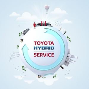 Ajatko Toyotan hybridillä? Toyotan täyshybridiakut ovat osoittautuneet erittäin luotettaviksi. Siksi Toyota myöntääkin Toyota-merkkihuollossa huolletuille hybridiautoille peräti 10 vuoden / 350 000 km Toyota hybridiakkuturvan. Lue lisää: https://www.toyota.fi/omistajalle/huolto/hybridiakun-kuntotarkastus.json