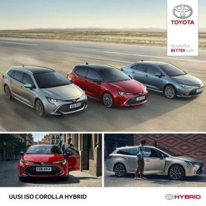 Maailman suosituin on nyt uudestisyntynyt. Uusi, iso Corolla Hybrid ylittää kevyesti kaikki odotukset. Touring Sports. Hatchback. Sedan. Kaikki kolme ennakkomyynnissä nyt meillä. Tervetuloa innostumaan! www.maakunnanauto.fi