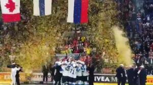 Onnea Suomi!!! Me ollaan maailmanmestareita!! 🇫🇮🇫🇮🇫🇮🏆