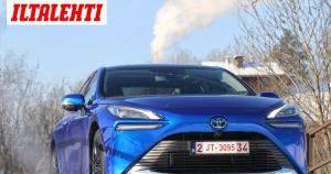 Koeajossa uusi vetysähköauto Toyota Mirai – toimintamatka jopa 700 kilometriä