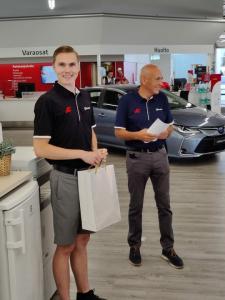 Mikael Raision vaihtoautopuolelta lähti perjantaina uusiin haasteisiin opiskeluiden parissa. Kiitos ja tsemppiä tulevaan 🥂
