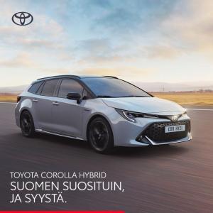 Rajattuun erään Corolla-malleja talvirenkaat nyt 590€  Hyödynnä lisäksi Auto-Centerin Corolla-viikkojen huipputarjoukset: https:...